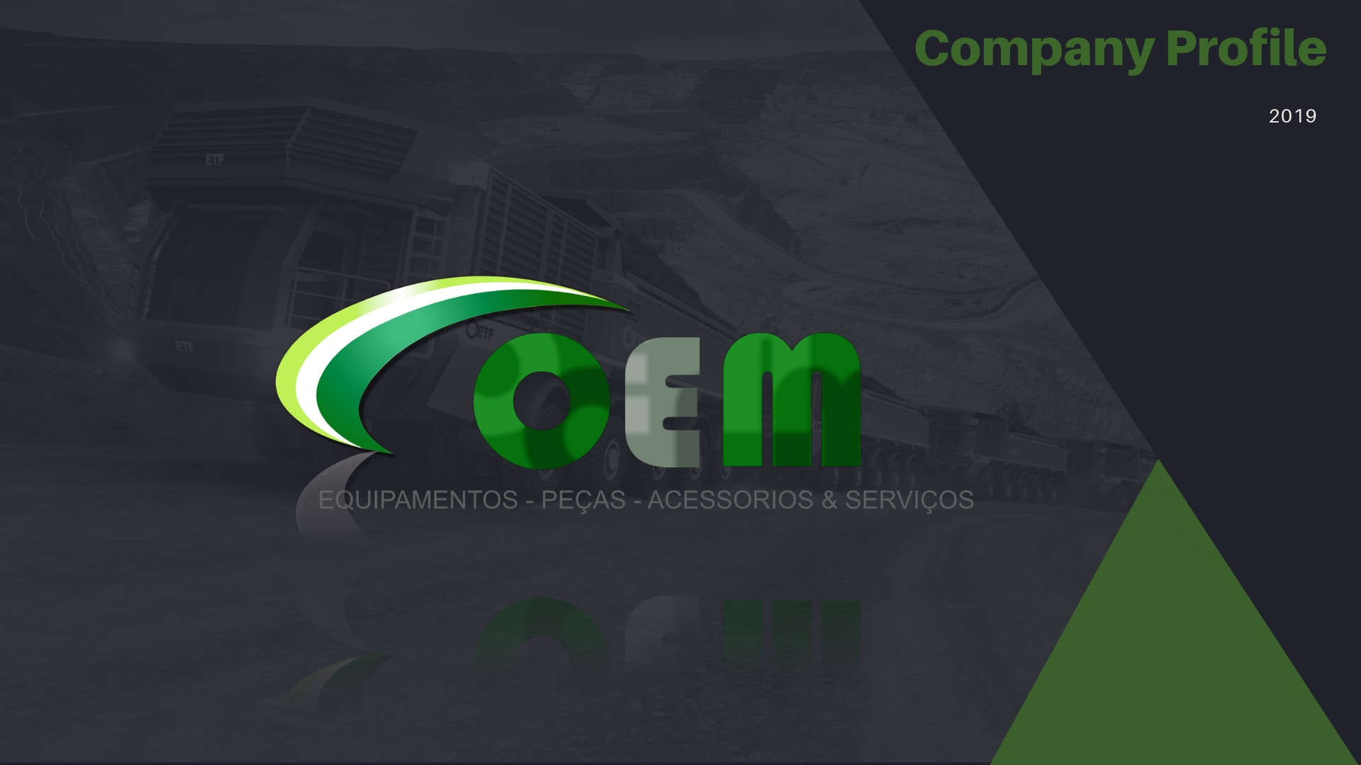 OEM Company Profile Kiyanda tec | Marketing digital Maputo